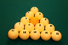 Billiard Royalty Free Stock Image