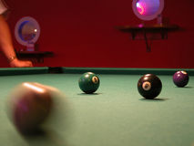 Billiard 2 Royalty Free Stock Images
