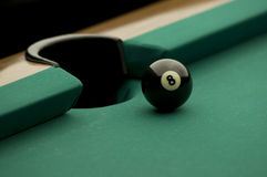 billiard Fotografia Stock