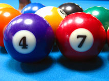 Billiard#3 Stock Foto