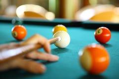 billiard Lizenzfreie Stockbilder