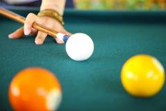 billiard Immagini Stock