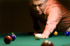 Billiard Lizenzfreies Stockfoto