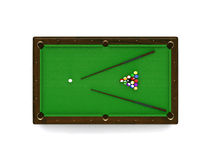 Billiard. This is billiard. Usable for catalogue or sports journals Stock Photos