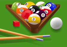 Billiard Lizenzfreies Stockbild