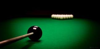 billiard Foto de Stock