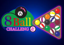 Billiard 8 ball Royalty Free Stock Images