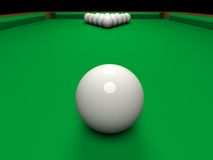 Billiard Royalty Free Stock Photography