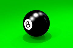 Billiard ball Stock Photos