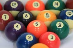 Billiard ball number5. Billiard balls or pool ball set Stock Photos