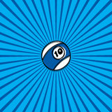billiard ball sketch doodle Stock Photo