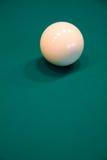 Billiard ball on a table Stock Photos