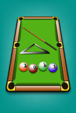 Billiard ball 2017 vector illustration