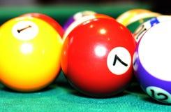 Billiard balls Royalty Free Stock Images