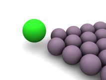 Billiard balls. Royalty Free Stock Photography