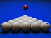 The billiard balls Royalty Free Stock Images