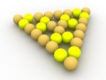 Billiard balls. Stock Image