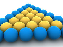 Billiard balls. Stock Image