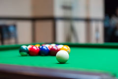 Billiard Balls Stock Photo