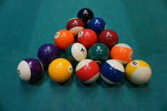 Billiard balls Royalty Free Stock Images