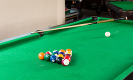 Billiard balls composition Stock Photography