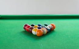 Billiard balls composition Stock Image