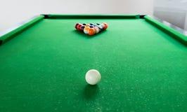 Billiard balls composition Royalty Free Stock Photography