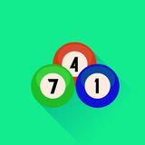 Billiard Balls Icon Royalty Free Stock Photo