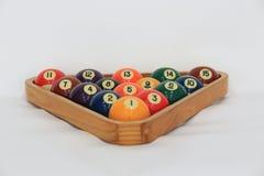 Billiard balls. Or pool balls set Stock Image