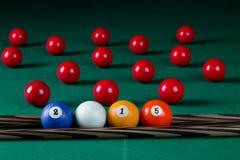 Billiard balls 2015 Royalty Free Stock Photography