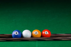 Billiard balls 2015 Stock Photo