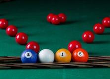 Billiard balls 2015 Royalty Free Stock Photo