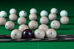 Billiard balls 2015 Stock Photography