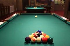 Billiard balls Stock Images