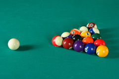 Billiard balls6 Stock Images