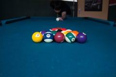 Billiard Break Stock Photography