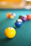 Billiard Stock Photo