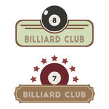 Billiard club Royalty Free Stock Photo