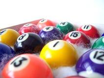 billiard för 3 bollar Arkivfoton