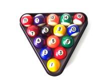 billiard för 4 bollar Royaltyfria Foton