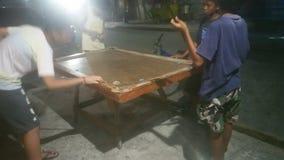 Billiard& filippino x27 dei poormans; s fotografia stock
