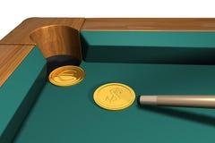 Billiard game Stock Images