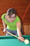 Billiard game Stock Image
