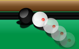 Billiard game Royalty Free Stock Photo