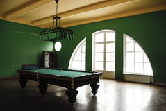 Billiard hall Stock Images