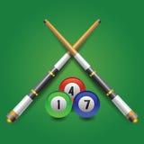 Billiard icon Stock Image