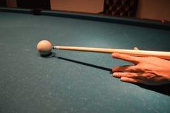 Billiard. The image of billiard, cue sports royalty free stock photo