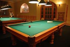 Billiard interior in  billiard club Stock Photography