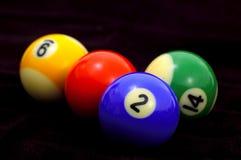 Billiard-Kugeln Lizenzfreie Stockfotografie
