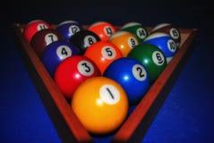Billiard. We like to play billiard Royalty Free Stock Photo